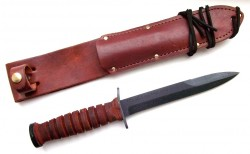 Нож «Mark III Trench Knife» производства «Ontario Knife Company» США.